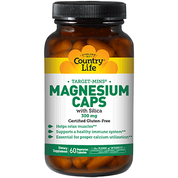 Magnesium Caps 300 mg - Country Life