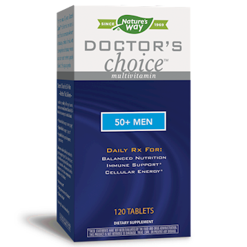 Doctor's Choice™ 50+ Men 120 tabs