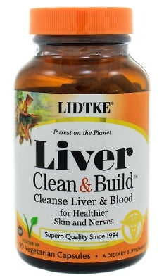Lidtke Technologies Cleanse and Build Blood/Liver Cleanser - Nutriessential.com