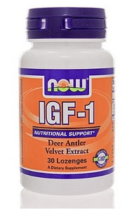 NOW Sports IGF-1 33mg Lozenges - Nutriessential.com
