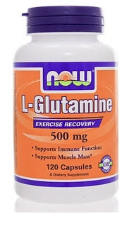 L Glutamine 500mg - Now Sports