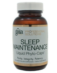 Gaia Herbs/Professional Solutions Sleep Maintenance Capsules - Nutriessential.com