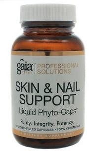 Gaia Herbs/Professional Solutions Skin and Nail Support Capsules - Nutriessential.com
