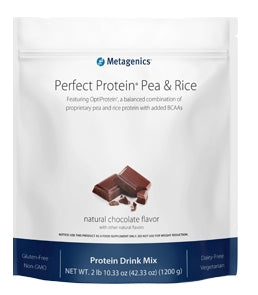 Perfect Protein Pea & Rice Choc - Nutriessential.com