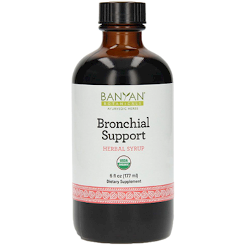 Bronchial Support Syrup - Banyan Botanicals