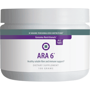 ARA 6 - D'Adamo Personalized Nutrition