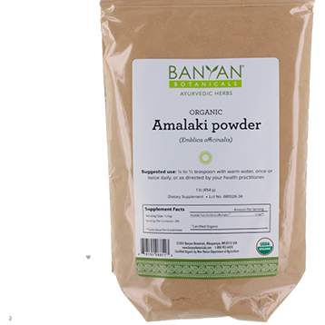 Amalaki Fruit Powder - Banyan Botanicals