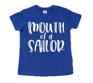 Mouth of a sailor