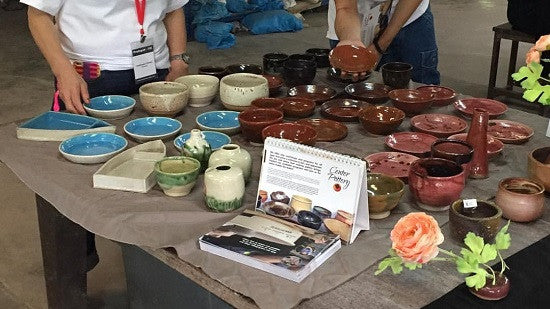 Center Pottery Singapore for Changi Hospital Charity Bazaar 2017