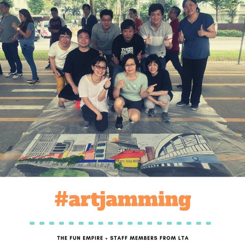 Team Building Activity Art Jamming