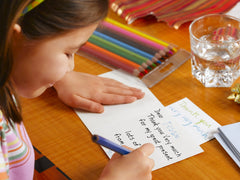 stay home activity letter writing
