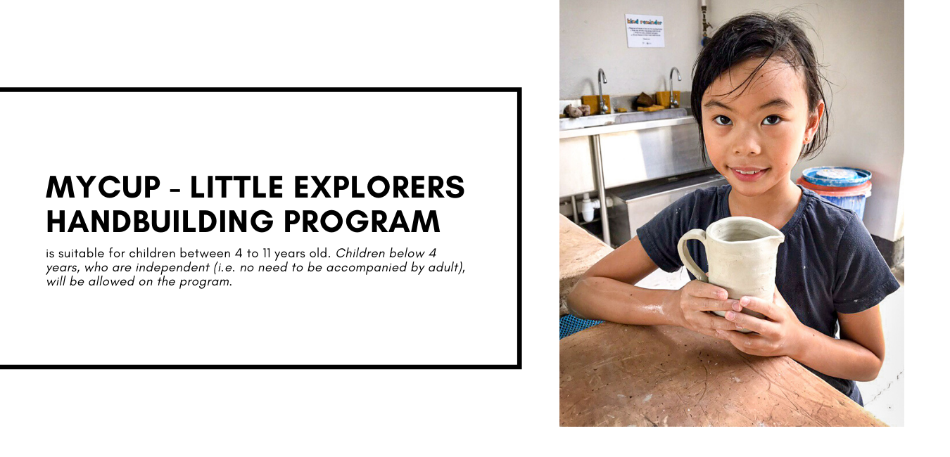 MyCup - Little Explorers Handbuilding Program