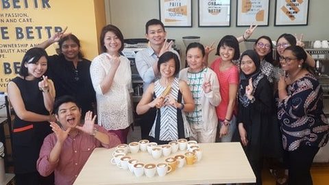 Team building Activity - Coffee Appreciation