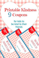 stay home activity kindness coupon