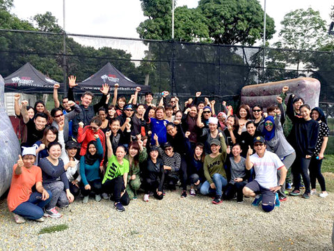 Team building activity - PaintBall