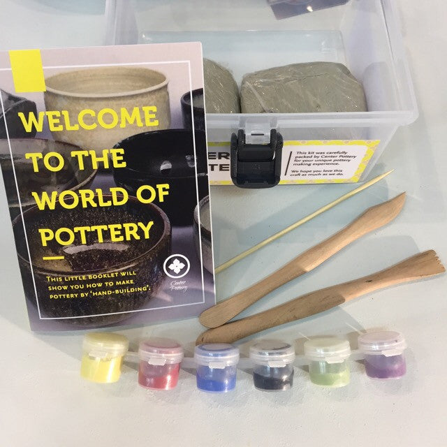 Pottery Starter Kit - Craft Bundle