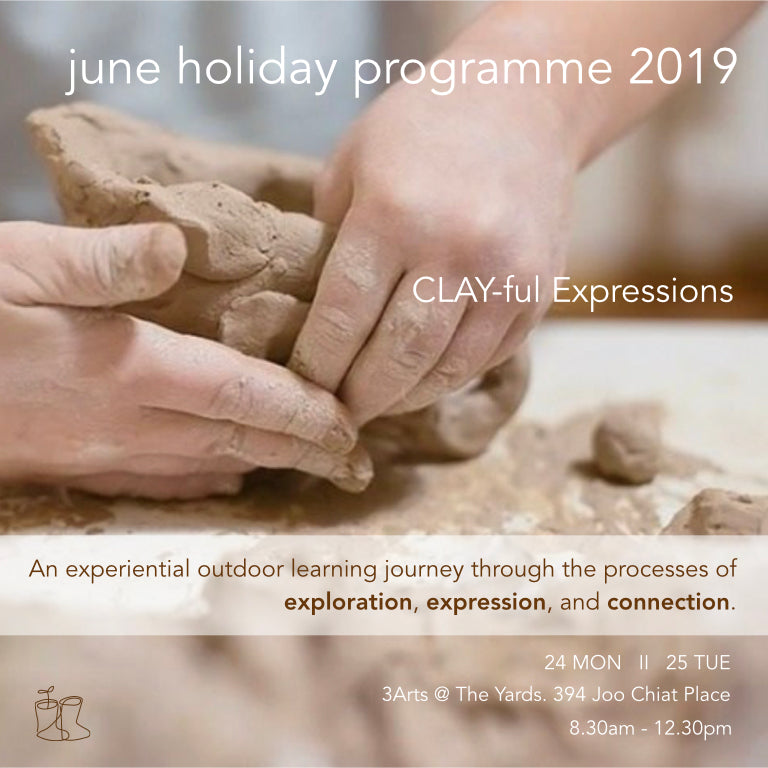 CLAY-ful Expressions - June Holiday Programme 2019