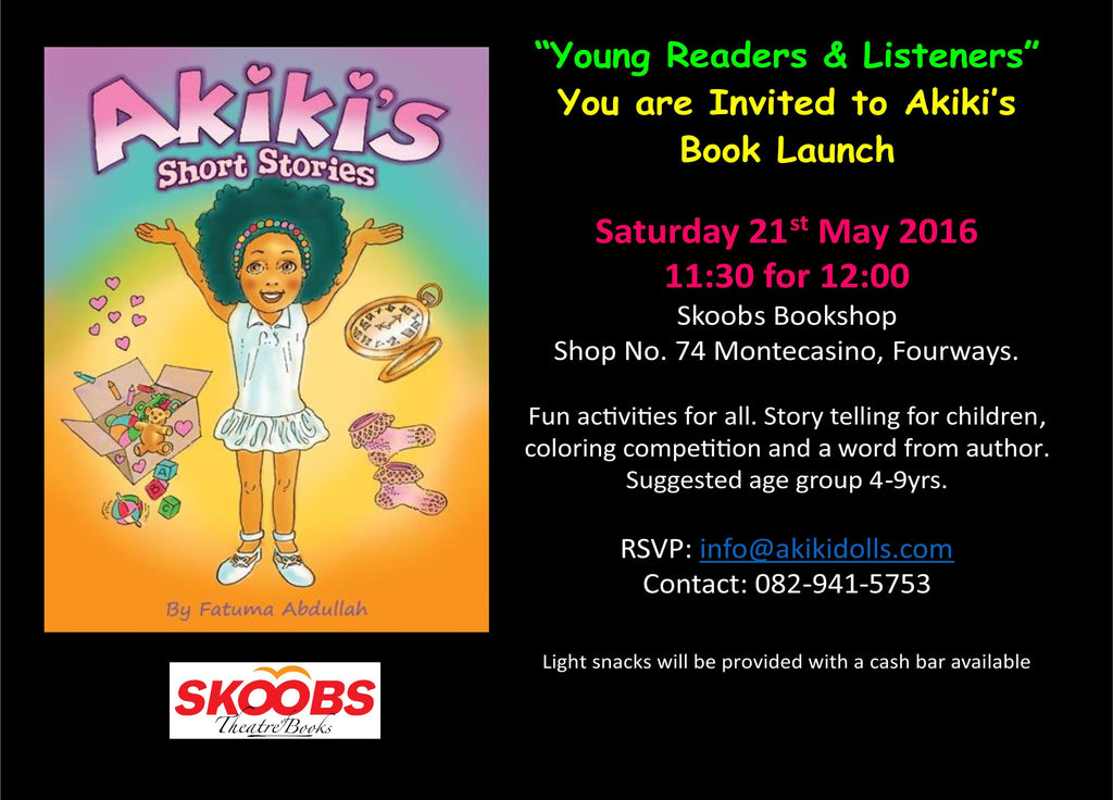 Akiki's Short Stories - Book Launch