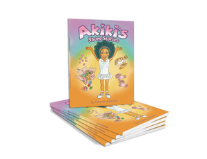 Akiki's Short Stories - Printed Book