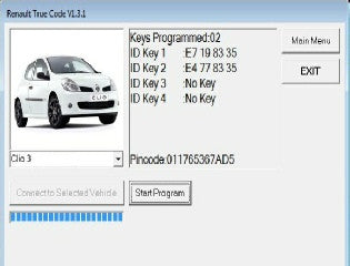 RTC2 Software Update (Renault)