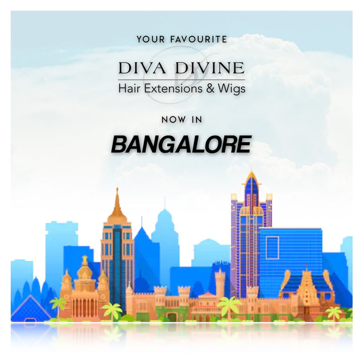 Diva Divine Hair Extensions & Wigs Now In Bangalore!