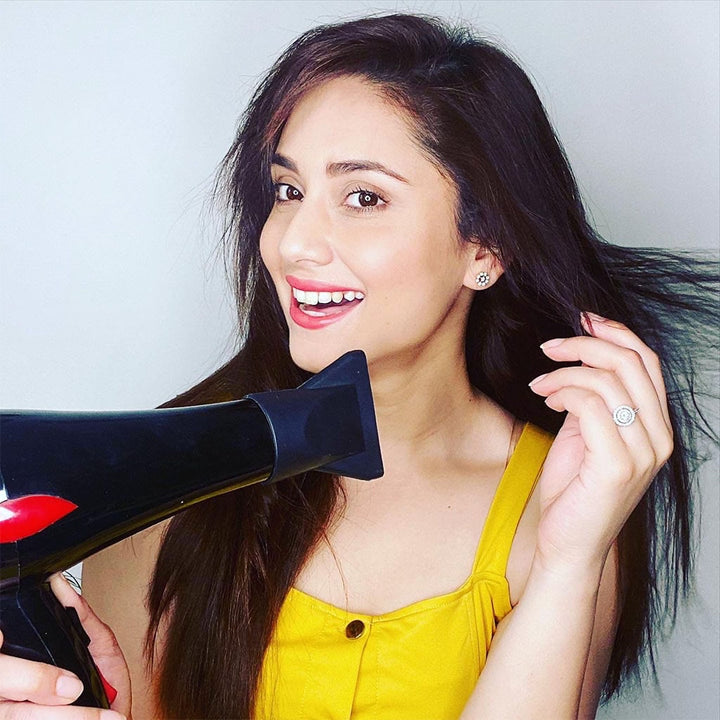 How to Blow-Dry Your Hair at Home!