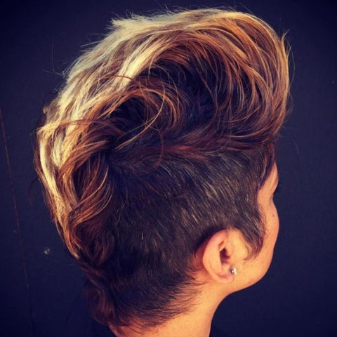 Highlighted Faux-Hawk