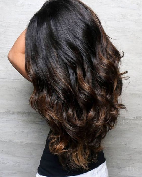Long V-cut with layers