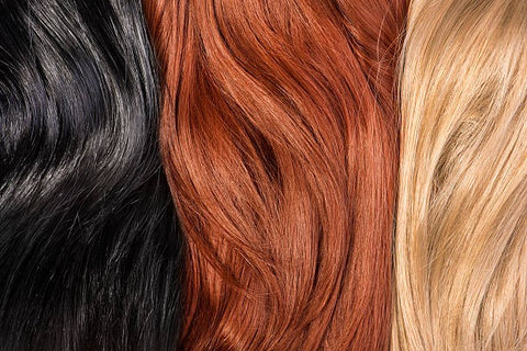 Choose a topper that complements your natural hair color