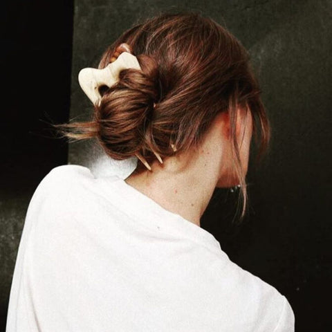 Choppy bangs for a low-maintenance style