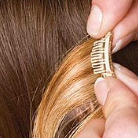 Clip and Add More Hair