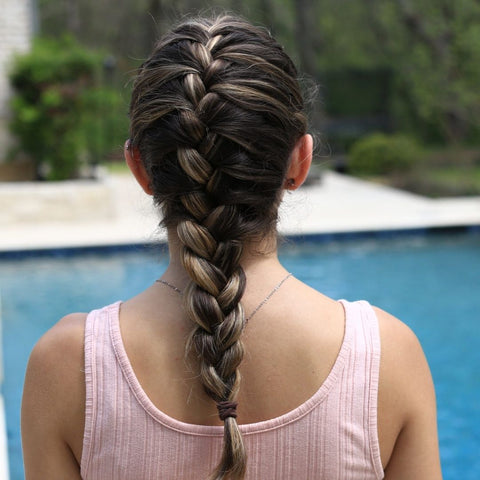 Crochet Ponytail Hairstyle
