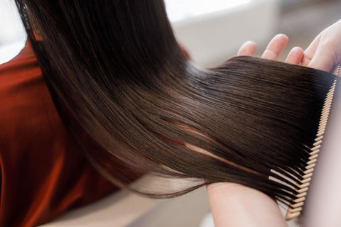 Finishing Touch For The Perfect Smooth Hair