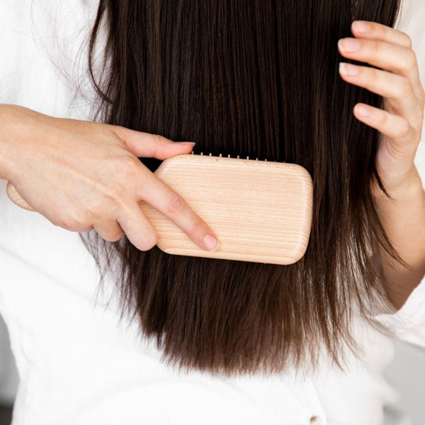 Gently Brush And Detangle The Highlights