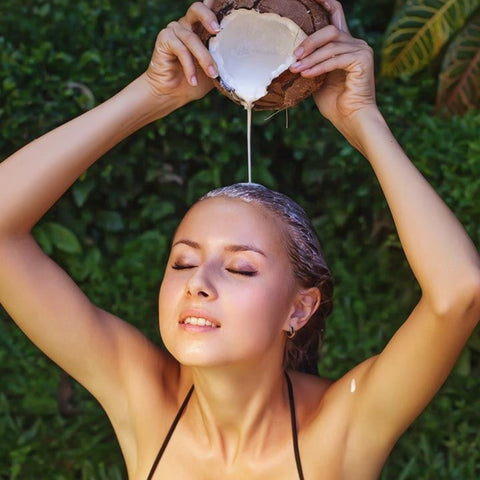Give Your Hair A Milk Rinse