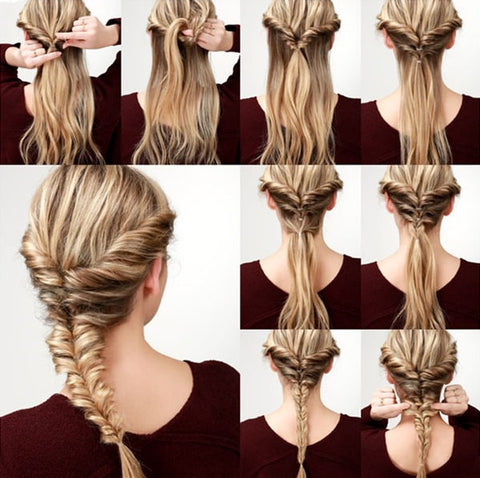 Fishtail Braid Hairstyles,New hairstyle, trending hairstyle