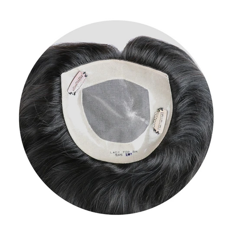 Lady Top-Monofilament Hair Topper For Texture