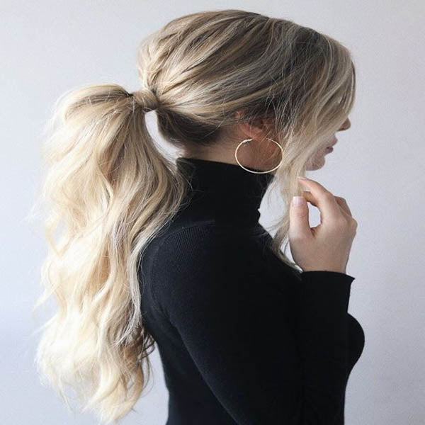 ponytail hair extensions for women
