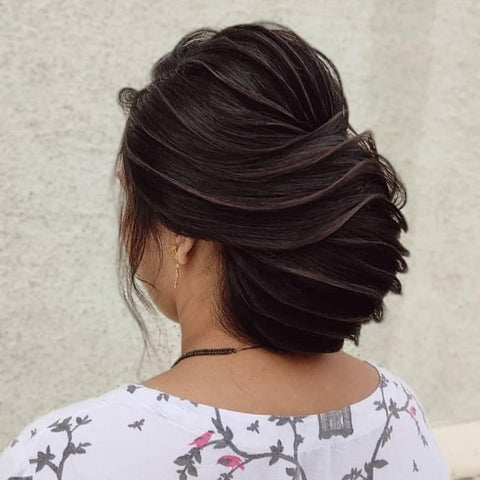 Charming Twisted Buns