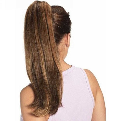 High Ponytail With Ponytail Extensions