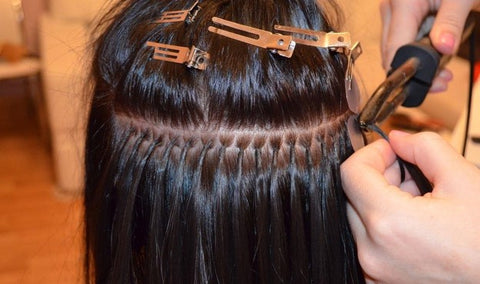 Improper installation of hair extensions causes damage