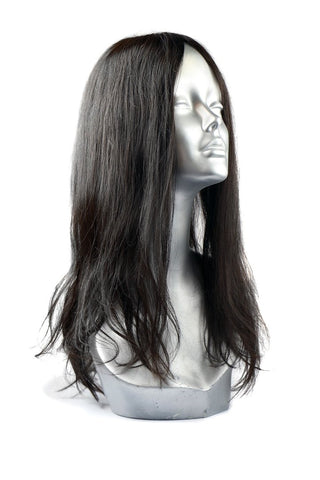 Silk toppers provide volume and coverage on top