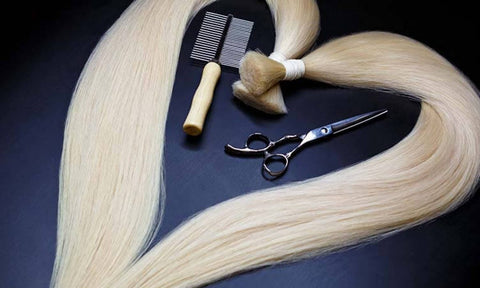 Synthetic Hair Tangles Easily