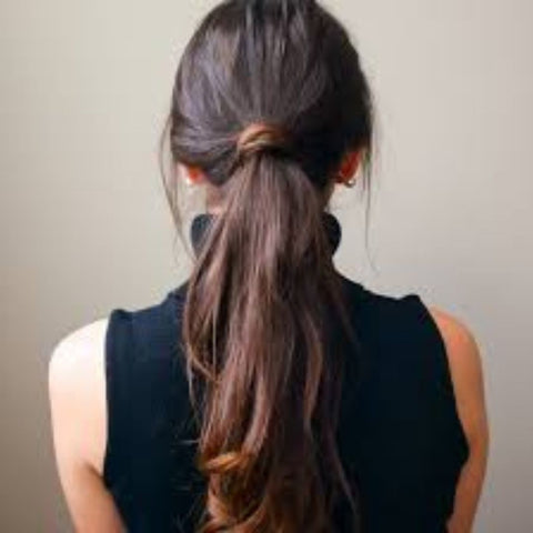Tousled Ponytail For Beguiling You