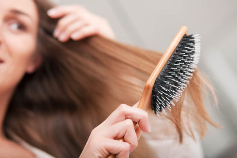 Use A Wide-Toothed Comb To Remove Tangles.
