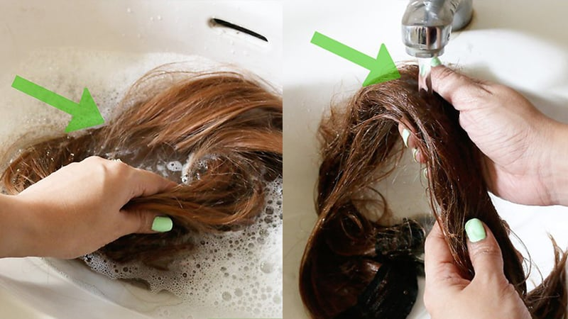 Wash Your Extensions Carefully