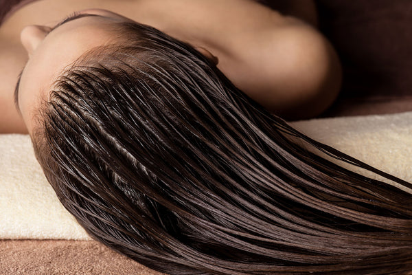 hair spa and shampoo for hair extensions