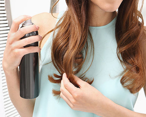 Add Volume to Your Hair with dry shampoo