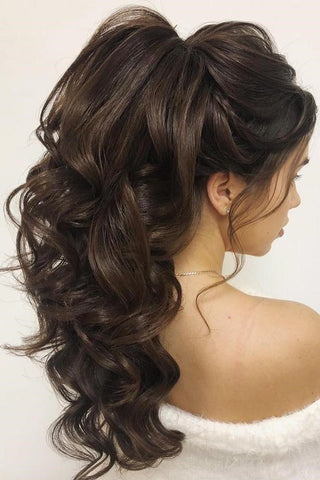 curly ponytail extension