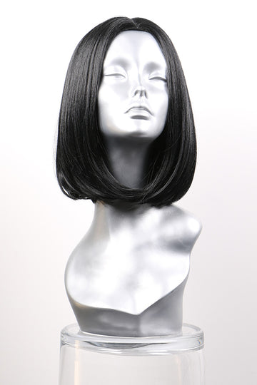 "Natural Black Synthetic Wig: ""Angela"""
